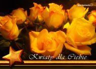 eKartki Kwiaty Róże dla Ciebie,