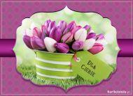eKartki Kwiaty Tulipany dla Ciebie,