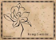 eKartki elektroniczne z tagiem: e-Kartki z kwiatami Tylko ten kwiat ...,
