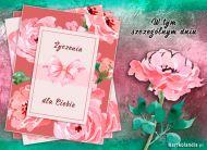 eKartki Kwiaty W tym szczególnym dniu,