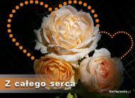 eKartki Kwiaty Z ca³ego serca,