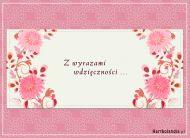 eKartki Kwiaty Z wyrazami wdziêczno¶ci,