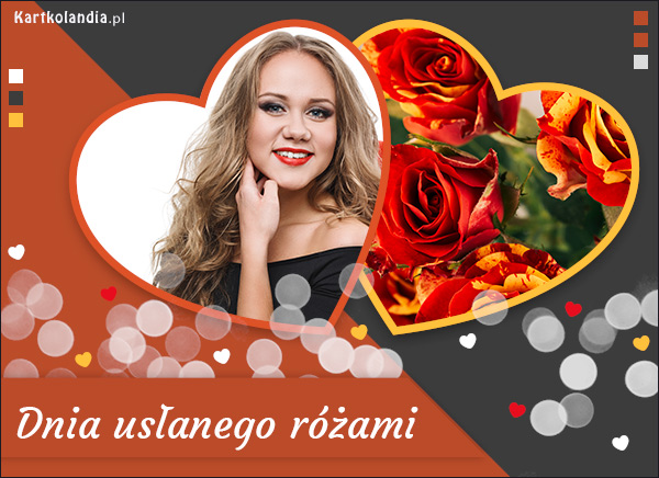 eKartki elektroniczne z tagiem: Pozdrowienia Dnia usłanego różami,