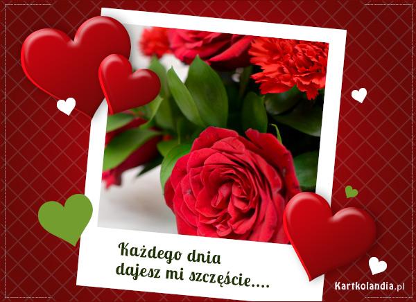 eKartki elektroniczne z tagiem: Walentynki Róża - Symbol miłości,