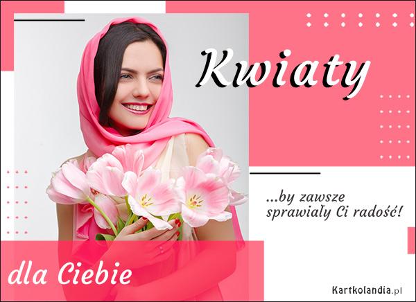 eKartki elektroniczne z tagiem: Tulipan Radość z kwiatów!,