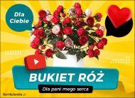 eKartki Elektroniczne Bukiet najpiękniejszych róż,