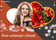 eKartki elektroniczne z tagiem: Walentynki Dnia usłanego różami,