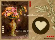 eKartki Kwiaty Kartka - Vintage kwiaty,