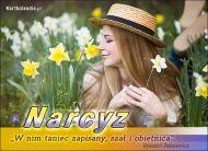 eKartki Elektroniczne Kartka wirtualna - Narcyz,