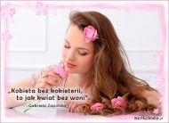eKartki Elektroniczne Kobieta i kwiaty...,