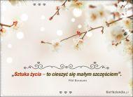 eKartki Kwiaty Małe szczęście...,
