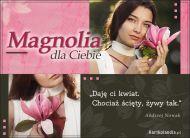 eKartki Elektroniczne Magnolia dla Ciebie,
