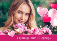 eKartki Kwiaty Pięknego dnia Ci życzę...,