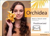 eKartki Kwiaty Pocztówka online - Orchidea,