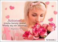 eKartki elektroniczne z tagiem: Róża Podarunek z kwiatów,