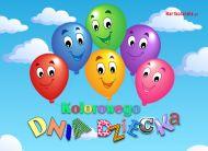 eKartki Dzień Dziecka Kolorowego Dnia Dziecka,