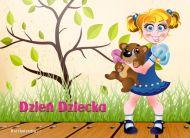 eKartki Dzień Dziecka Szczęśliwe dzieciństwo,