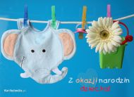 eKartki Dzieñ Dziecka Z okazji narodzin dziecka,