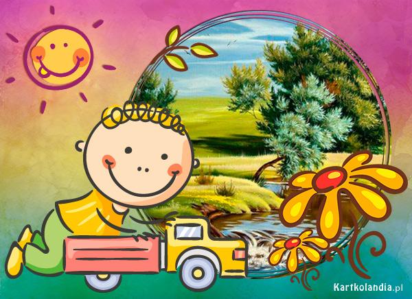 eKartki Dzień Dziecka Dzień pełen zabawy,
