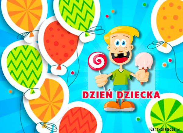 eKartki Dzień Dziecka Słodycze dla Ciebie,