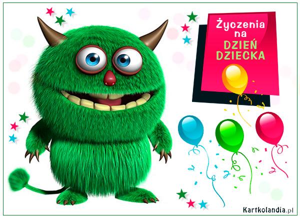 eKartki Dzień Dziecka Życzenia na Dzień Dziecka,