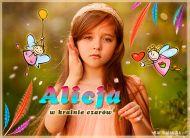 eKartki Dzień Dziecka Alicja w krainie czarów,