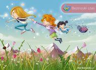 eKartki Dzień Dziecka Beztroski czas,