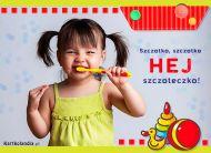 eKartki Dzień Dziecka Czarodziejska szczoteczka,