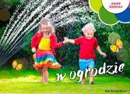 eKartki Dzień Dziecka Dzień Dziecka w ogrodzie,