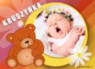 eKartki elektroniczne z tagiem: e-Kartki Narodziny Dziecka Kruszynka,