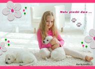 eKartki Dzień Dziecka Małe pieski dwa,
