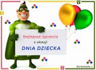 eKartki Dzień Dziecka Najlepsze życzenia,