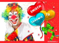 eKartki Dzień Dziecka Śmiech to zdrowie!,