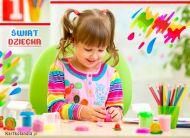 eKartki elektroniczne z tagiem: Kartki darmowe ¦wiat dziecka,