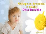 eKartki Dzień Dziecka Dla mojego Króliczka,