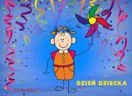 eKartki Dzień Dziecka Kolorowy Dzień Dziecka,