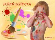 eKartki Dzieñ Dziecka ¦wiat Dziecka,