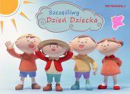 eKartki Dzień Dziecka Szczęśliwy Dzień Dziecka,