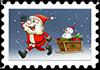 Pędzący Mikołaj